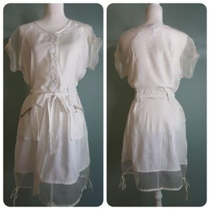 Miilla Off White Dress